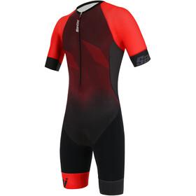 Santini Imago Combinaison de triathlon manches courtes Homme, red
